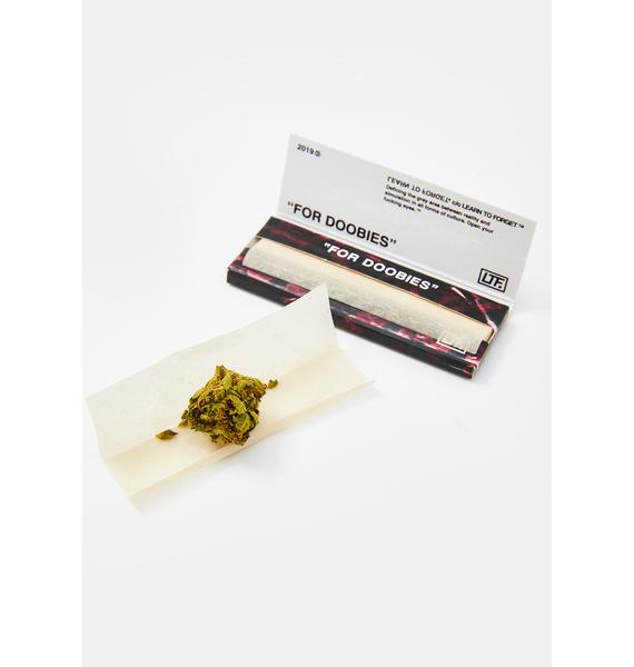 "Learn To Forget ""For Doobies"" Organic Hemp Rolling Papers"