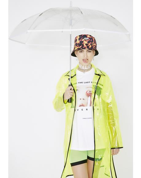 Acid Raindrops Light Up Umbrella
