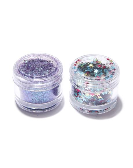 Cosmic Glitter And Gem Set