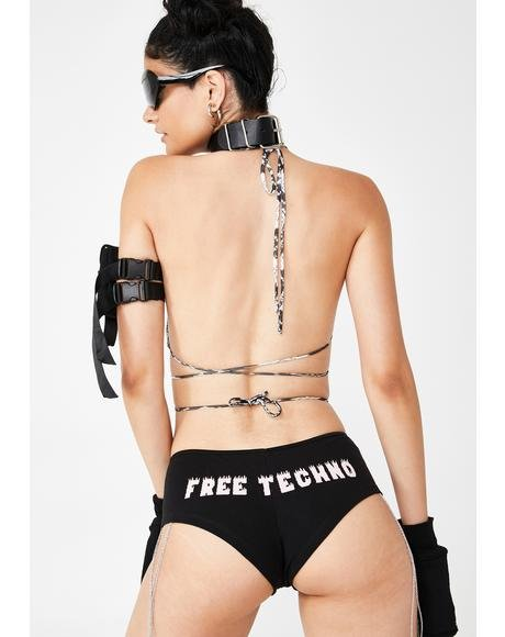 Free Techno Chain Shorts