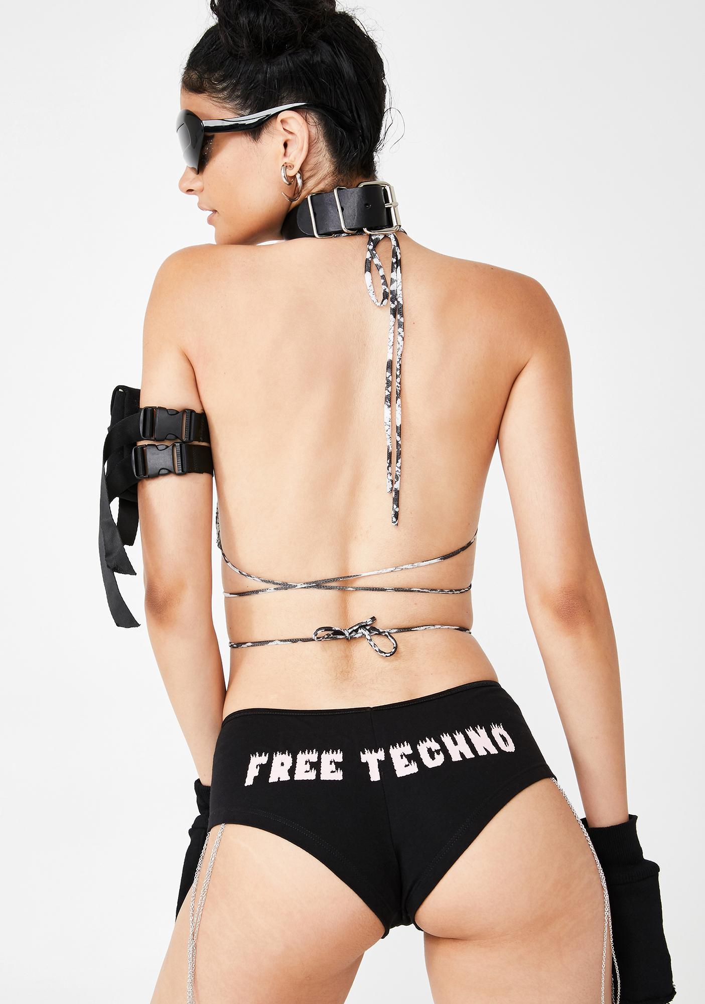 W.I.A Free Techno Chain Shorts