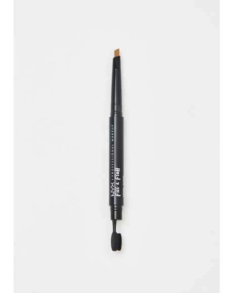 Blonde Fill & Fluff Eyebrow Pomade Pencil