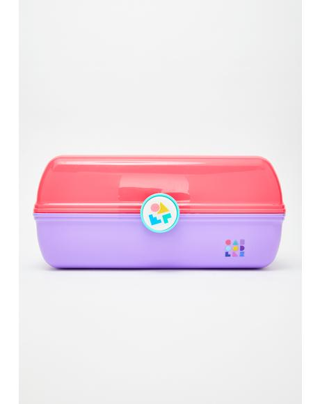Pink Two Tone On-The-Go Girl Case