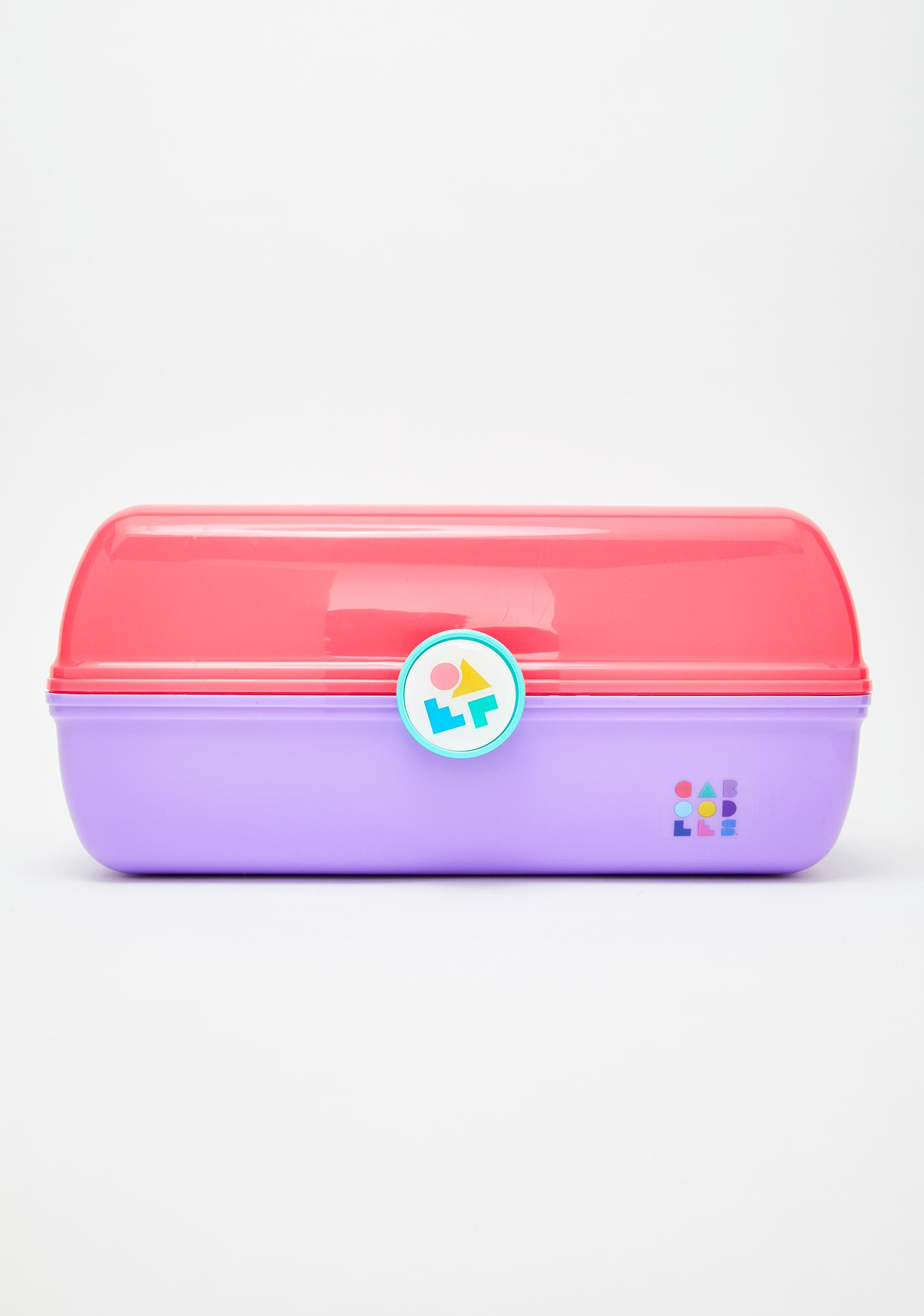 Caboodles Pink Two Tone On-The-Go Girl Case