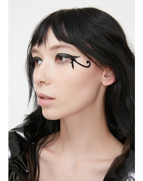 Eye Of Horus Face Stickers