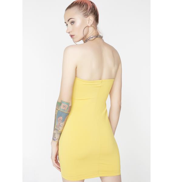 Bleach Blonde Babe Tube Dress