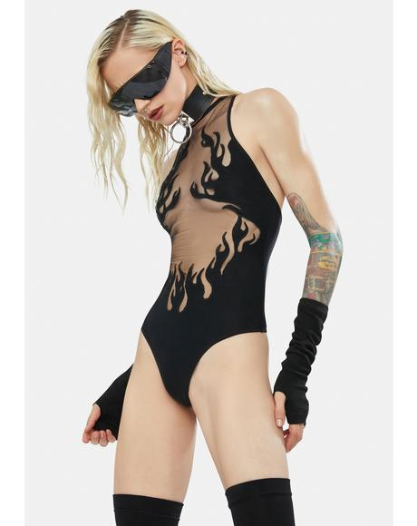 Smokin Mirrors Bodysuit