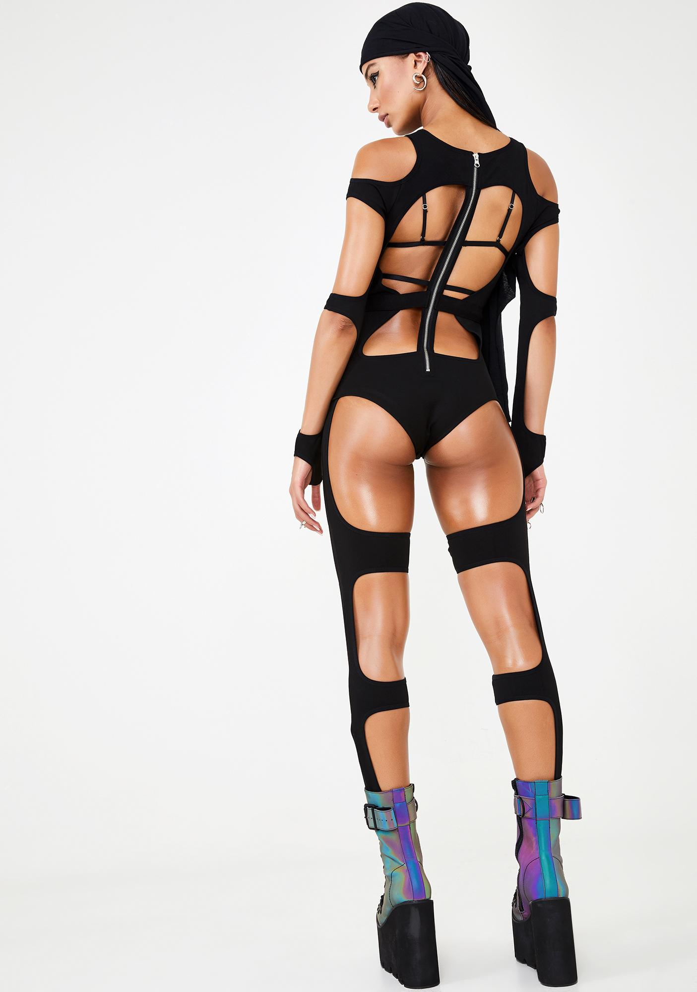 Club Exx Tenth Element Harness Catsuit