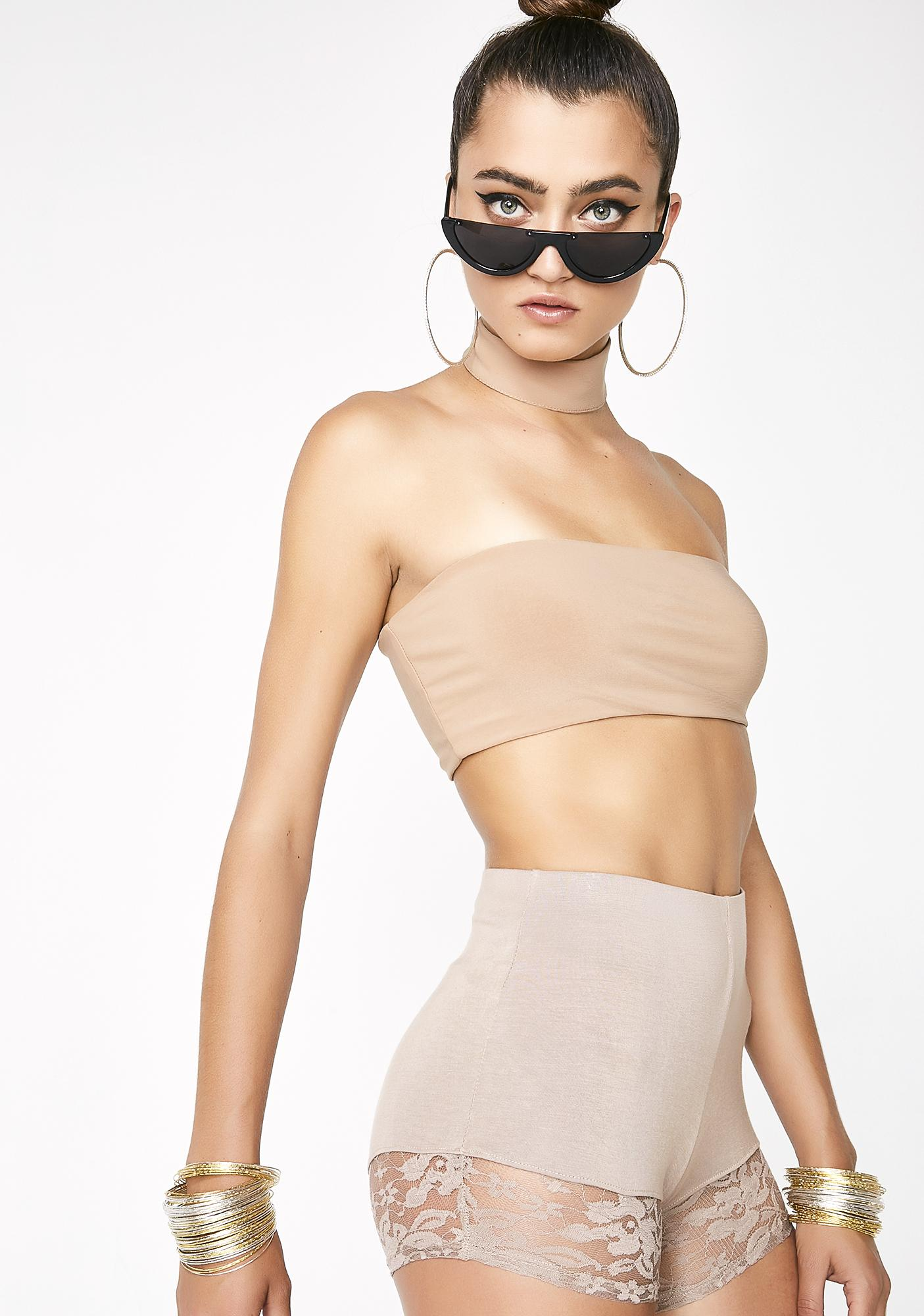 Topic Of Discussion Choker Top