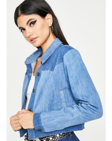 Sinnin' Stunner Denim Jacket