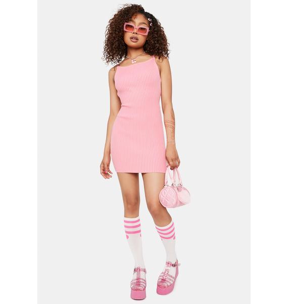 Sugar Take Time Knit Dress