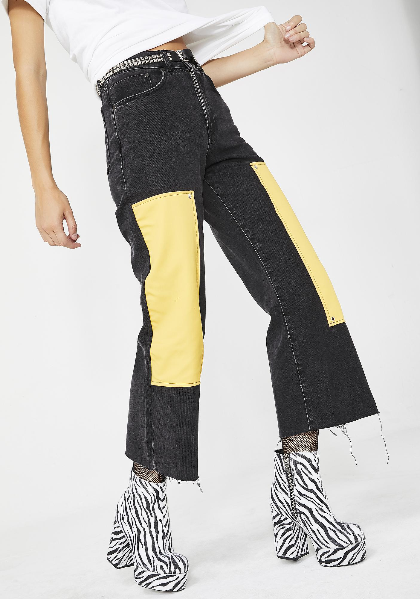 The Ragged Priest Scrap Jeans