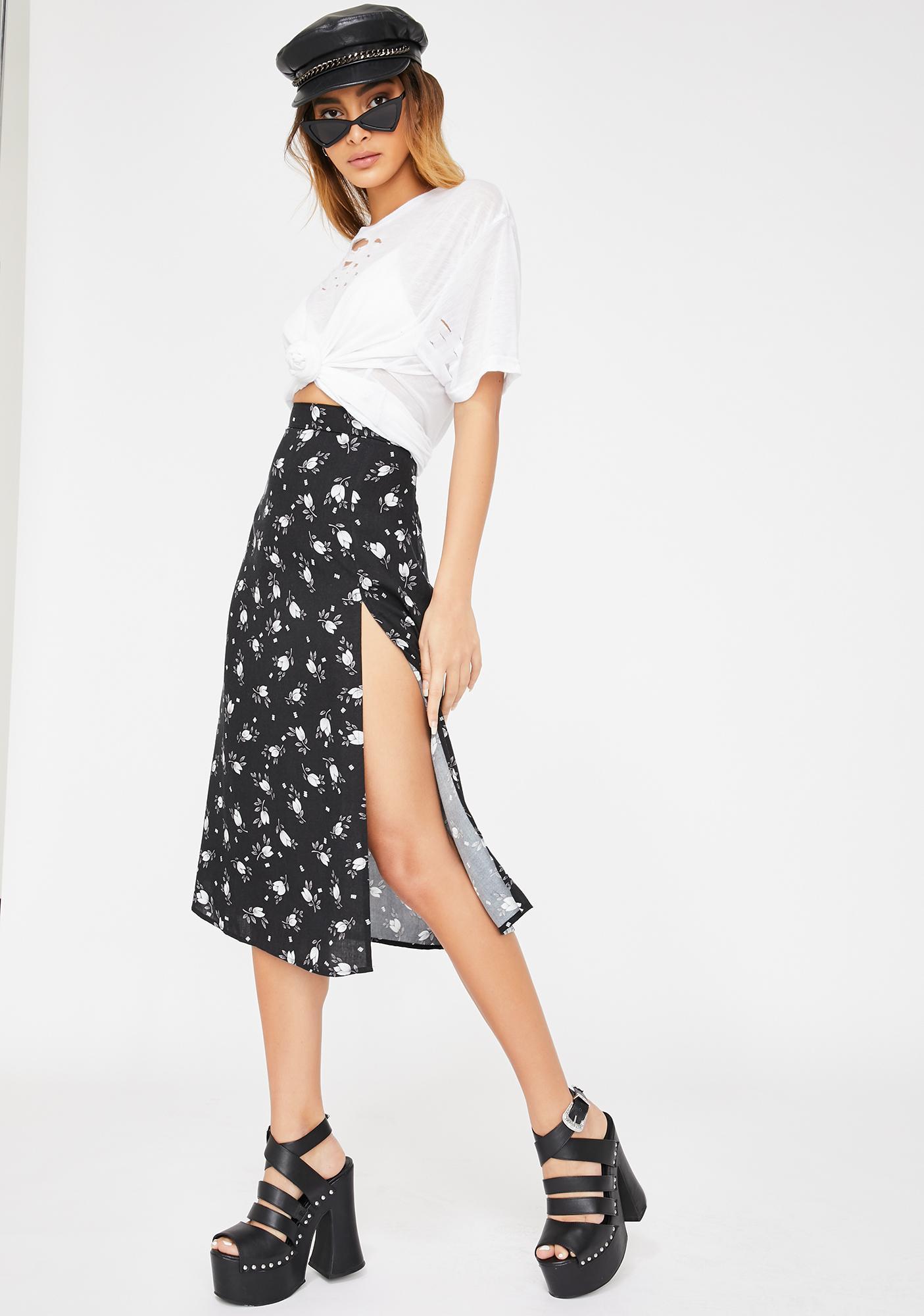 Motel Wild Tulip Saika Skirt