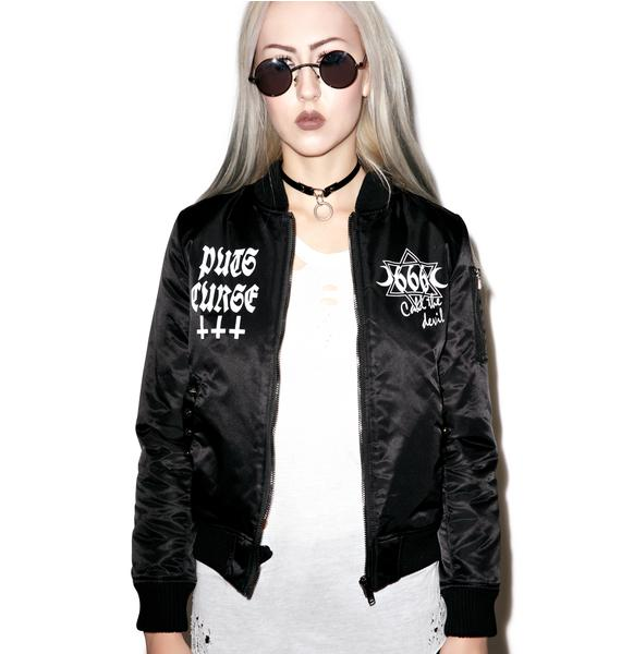 Dark Prayers MA-1 Jacket