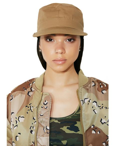 Coyote Fatigue Cap