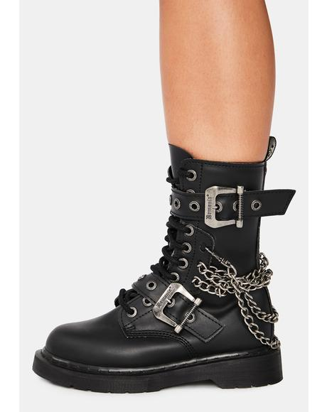Chaos Reigns Combat Boots