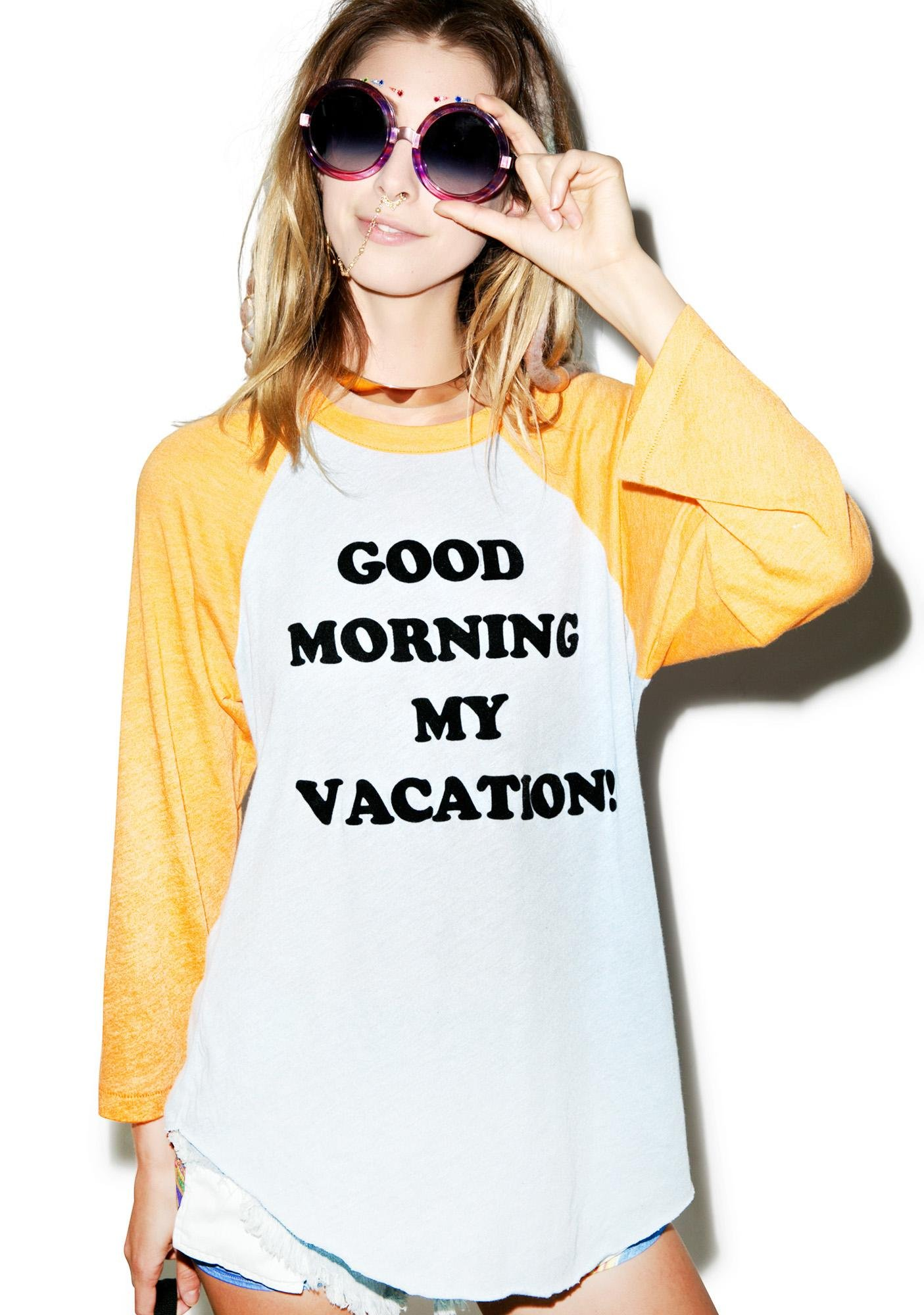 Wildfox Couture Good Morning Vacation '79 Raglan