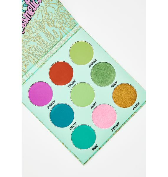 Glisten Cosmetics Totally Botany Eyeshadow Palette