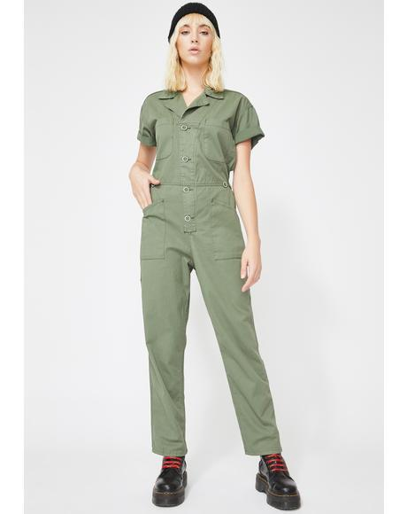 Grover Denim Jumpsuit