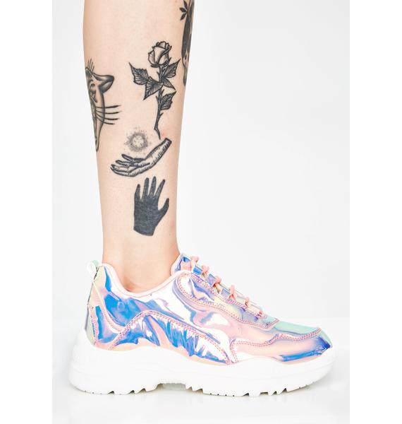 Prismatic Pounce Sneakers