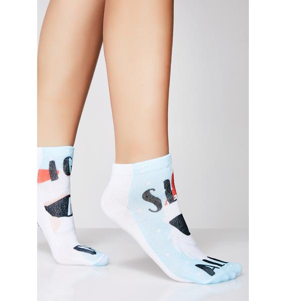 Sleigh All Day Ankle Socks