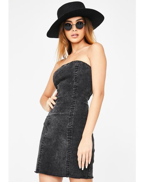 Coven Country Denim Dress