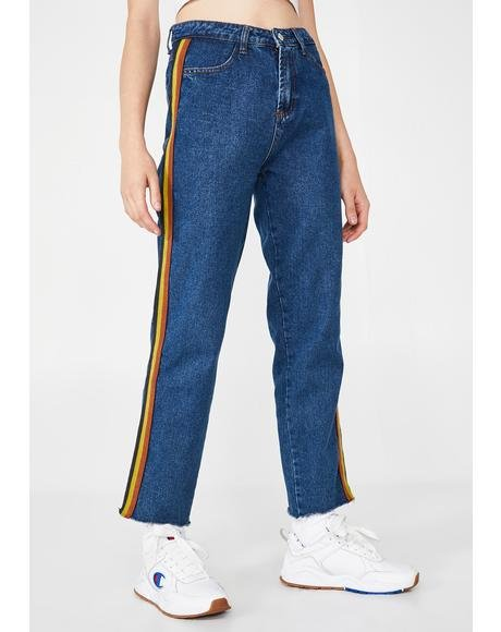 Retro Realness Denim Pants
