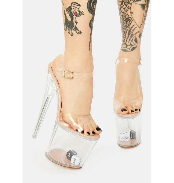 Pour Some More Platform Heels
