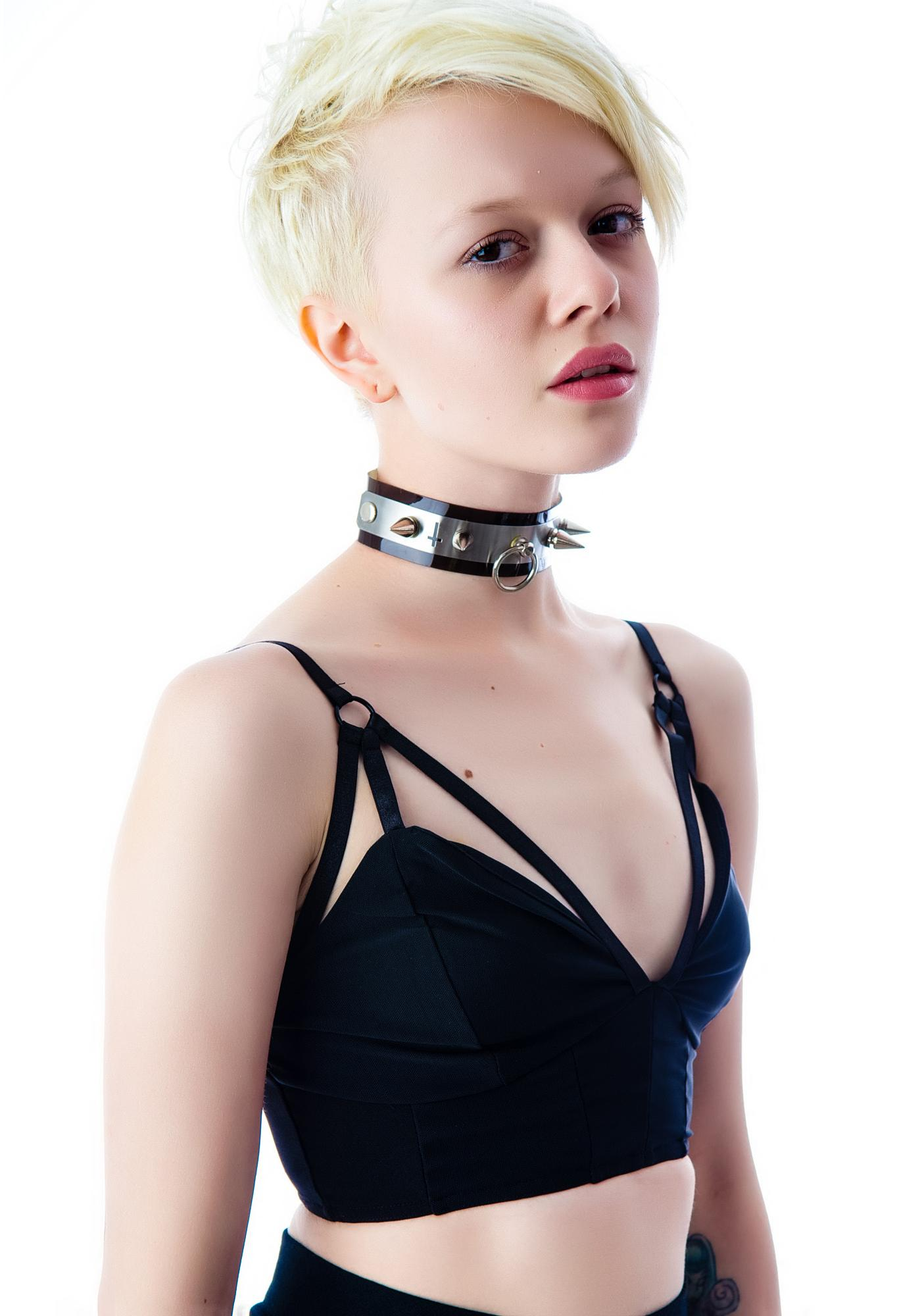 Evil Twin Girl Interrupted Bralette