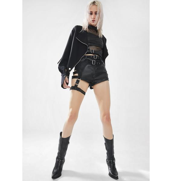 Punk Rave Punk Steel Phantom Sleeveless Vest