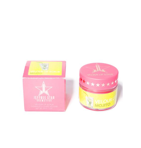 Jeffree Star Mojito Velour Lip Scrub
