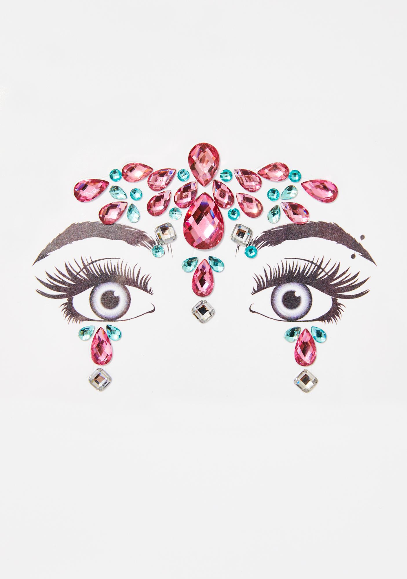 Princess Temple Face Gems