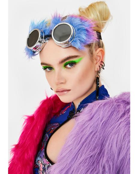 Electric Animal Fuzzy Goggles