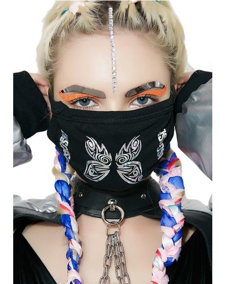 Tribal Butterfly Mask