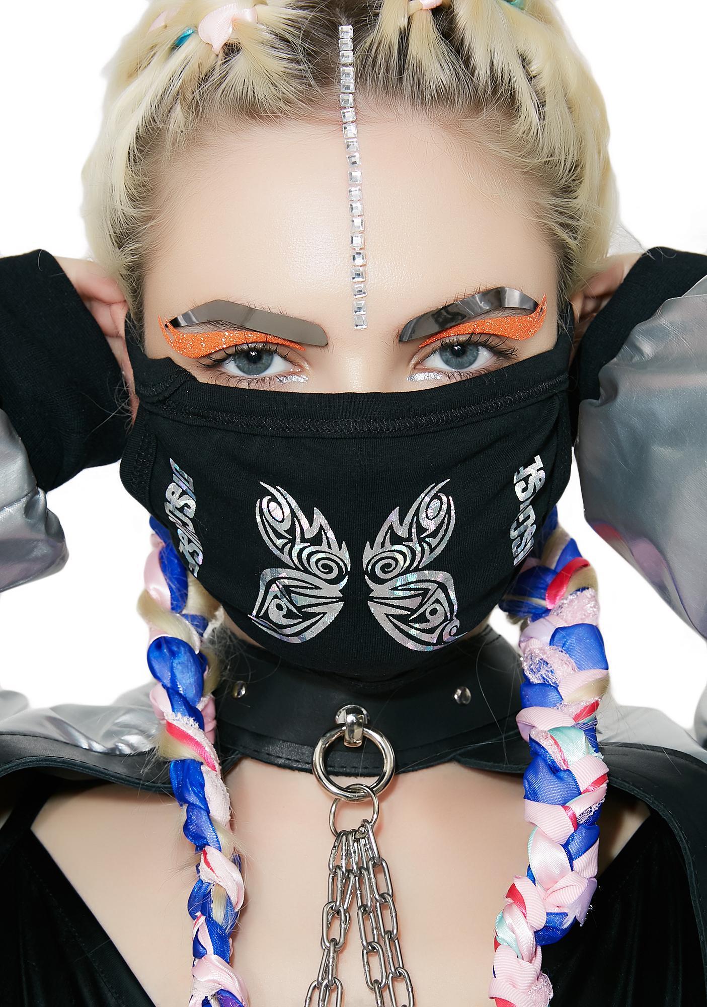 MeYouVersusLife Tribal Butterfly Mask
