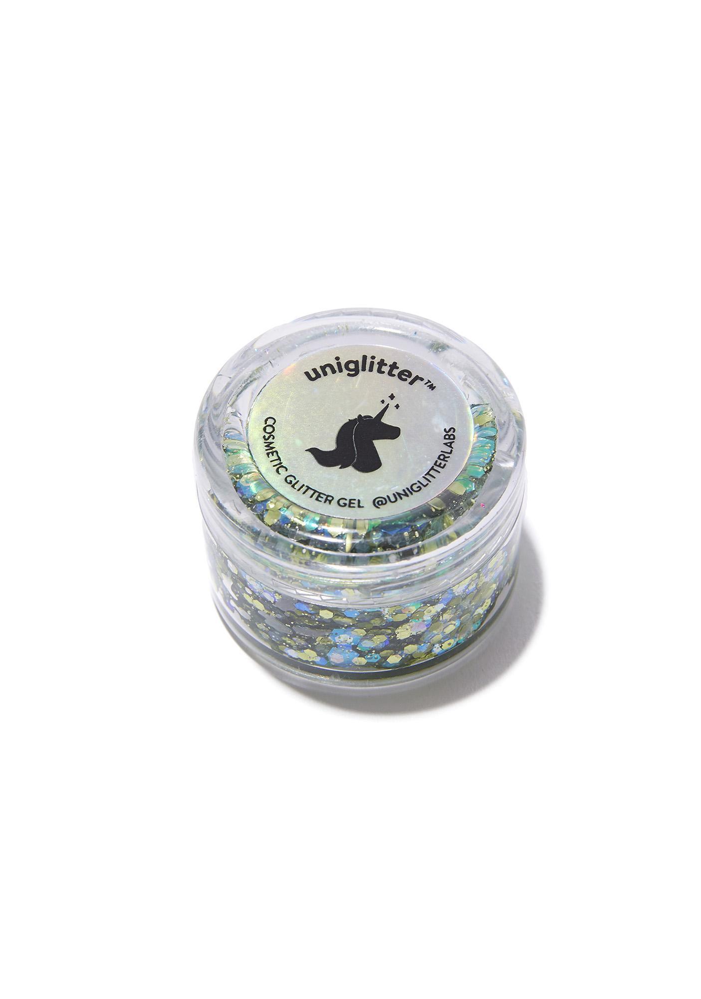 Uniglitter Seahorse Green Glitter Gel