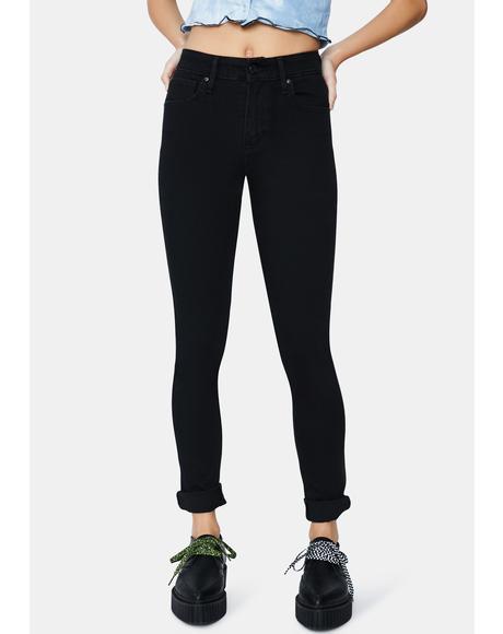 Long Shot 721 High Rise Skinny Jeans