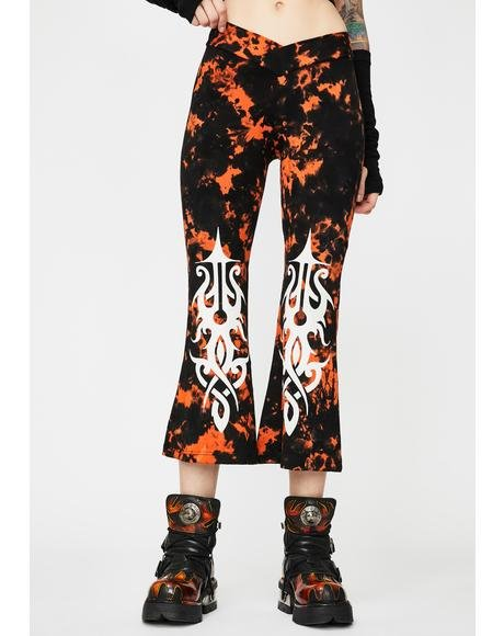 Tie Dye Comfy Crop Pants