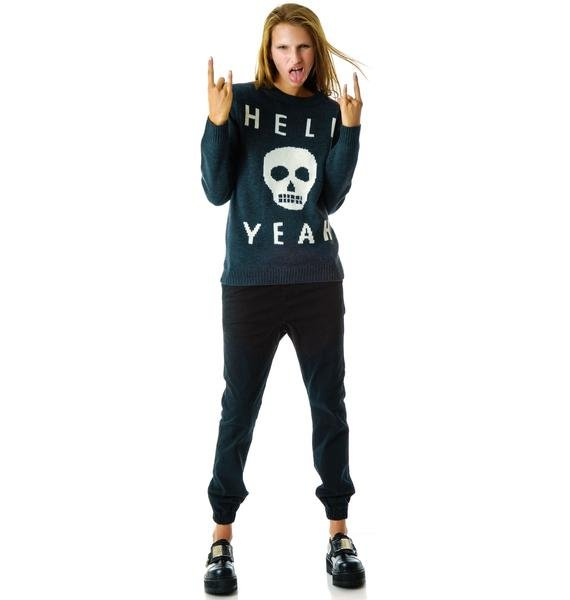 Glamour Kills Skull Yeah Knit Sweater