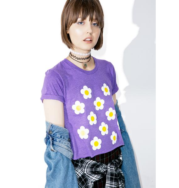 Moon River Collective Daisy Crop Top