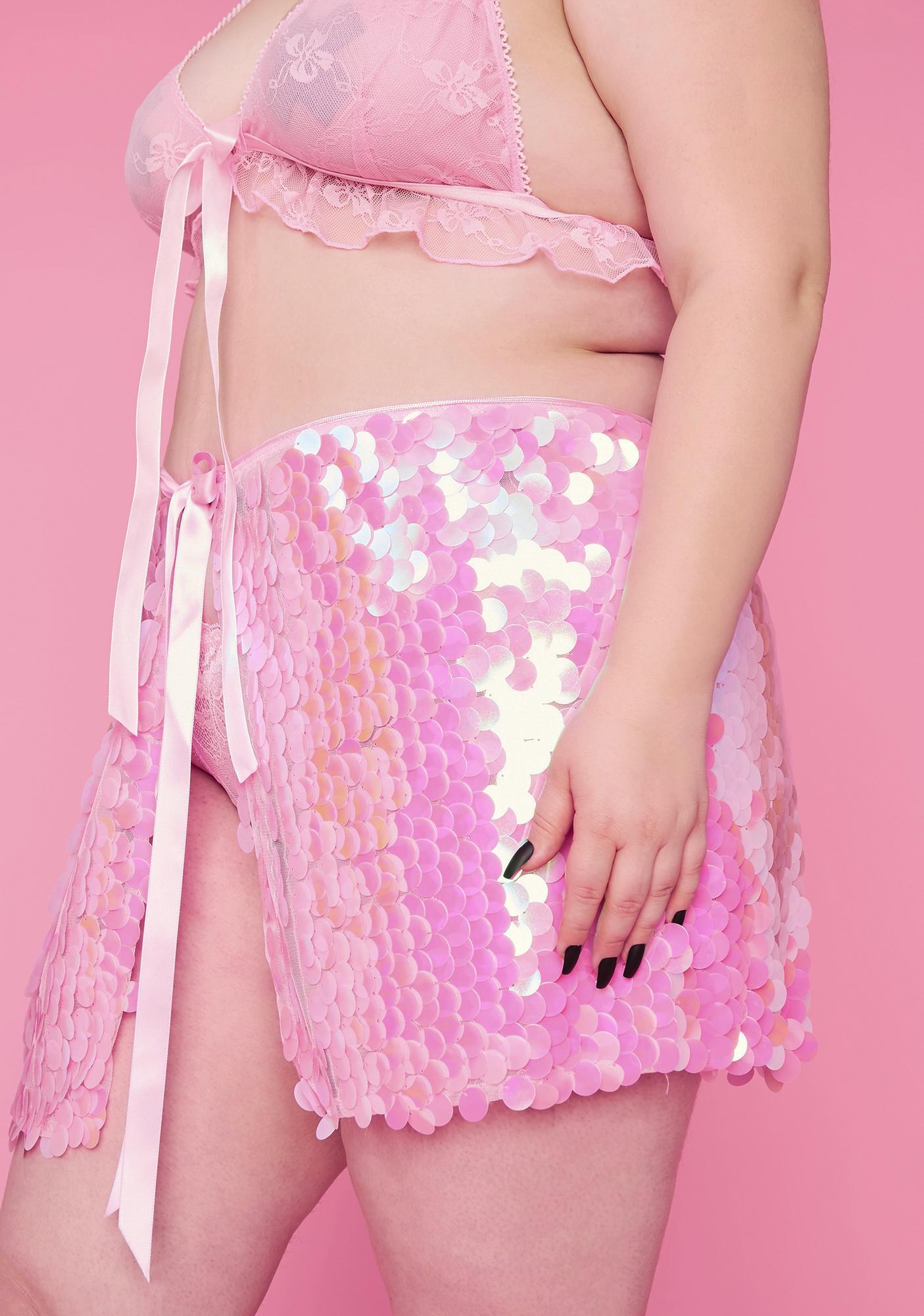 Sugar Thrillz Forever Part Of Ur World Sequin Skirt