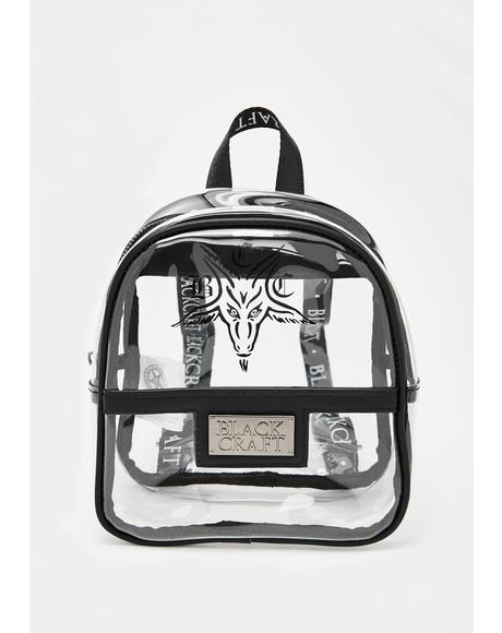Clear Mini Festival Backpack