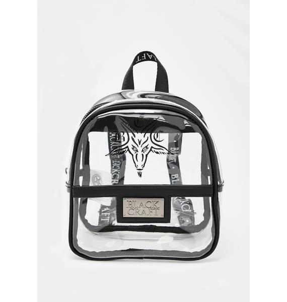 Blackcraft Clear Mini Festival Backpack