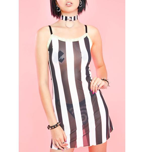 Sugar Thrillz Poltergeist Party Mesh Dress