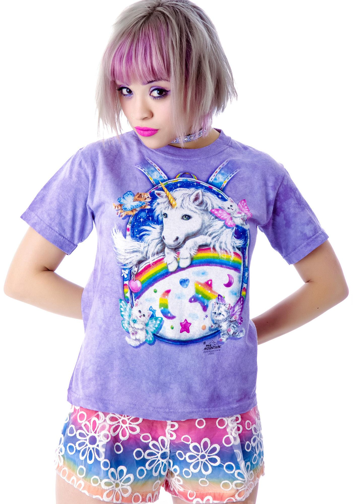 Magic Backpack Unicorn Baby Tee