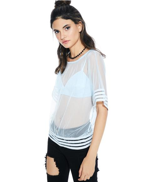 Powder Room Mesh Tee