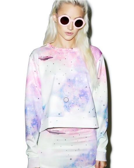 Space Cadet Pop Art Sweater