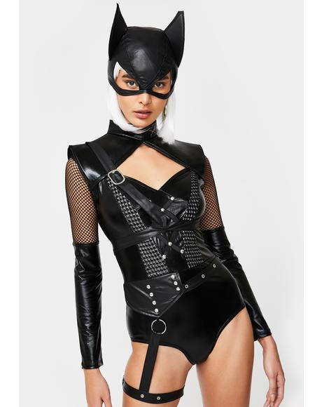 Bad Kitty Costume Set