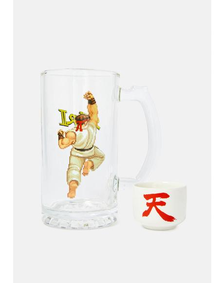 Street Fighter Sake Bomb Set