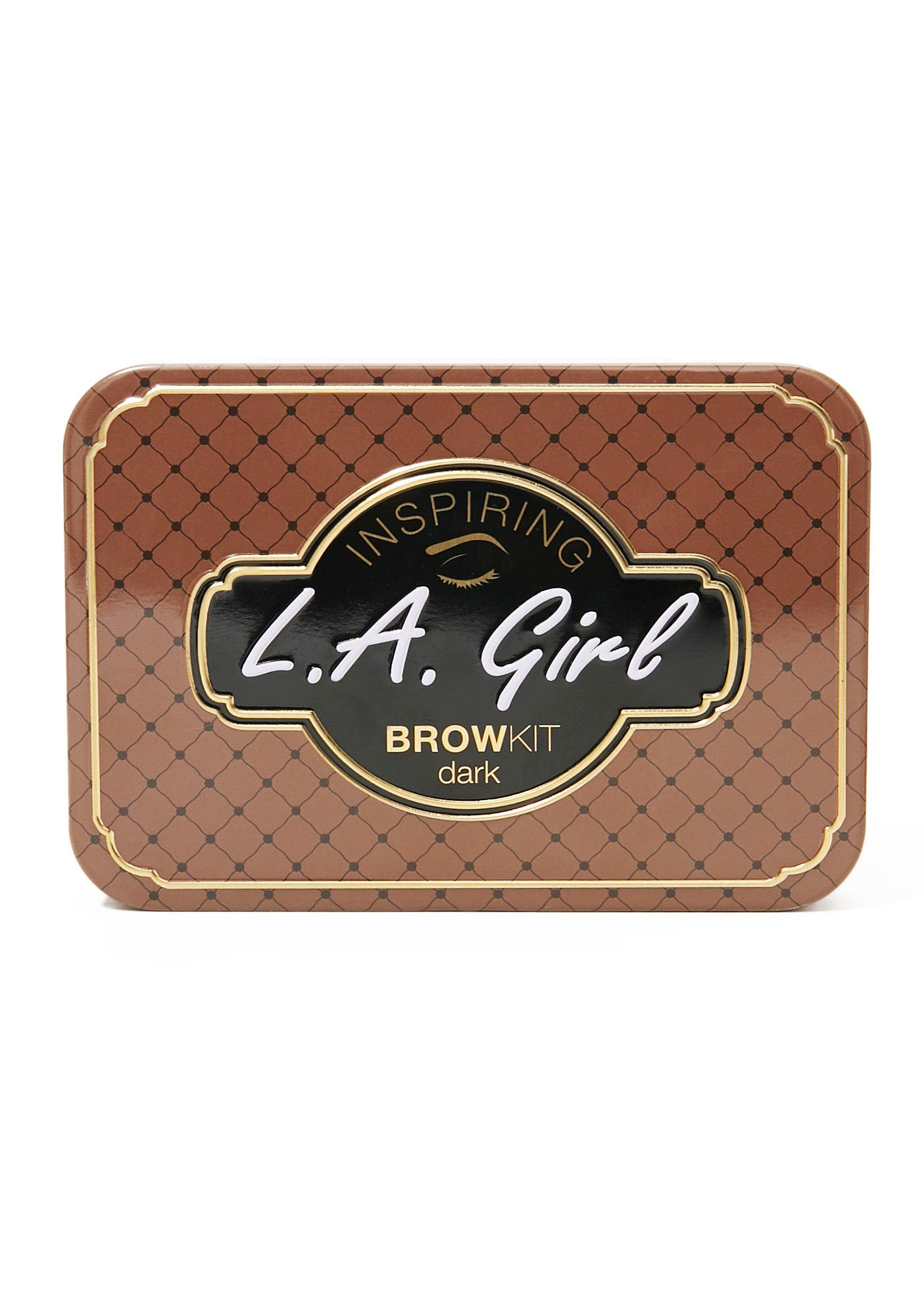 LA Girl Dark And Defined Inspiring Eyebrow Kit